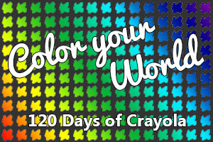120 days of color badge